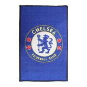 チェルシー フットボールクラブ Chelsea FC オフィシャル クレストデザイン フロアラグ フロアマット サッカー インテリア 【楽天海外直送】