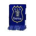 ショッピングバートン エバートン フットボールクラブ Everton FC オフィシャル商品 ニットマフラー サポータースカーフ サッカーマフラー 冬 【楽天海外直送】