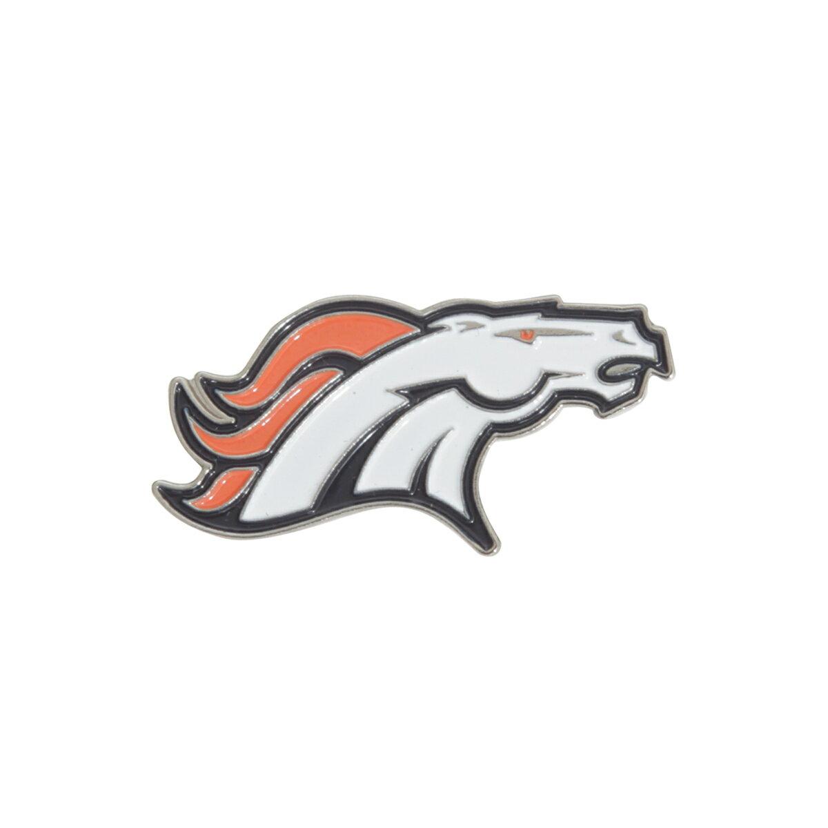 NFL デンバー・ブロンコス Denver Broncos オフィシャル商品 ロゴ ピンバッジ 【楽天海外直送】