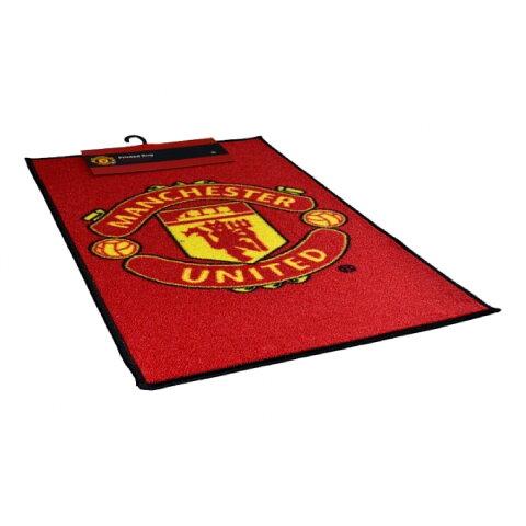 マンチェスター・ユナイテッド フットボールクラブ Manchester United FC オフィシャル商品 ロゴ入り ラグ フロアマット 【楽天海外直送】
