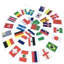 サッカー 32カ国 国旗 ワールドフラッグ バンティング バナー 壁かざり デコレーション 9.9m 【楽天海外直送】