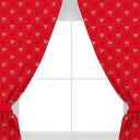 アーセナル フットボールクラブ Arsenal FC オフィシャル商品 ロゴ柄 プリント カーテン 【海外通販】
