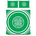 セルティック フットボールクラブ Celtic FC オフィシャル商品 リバーシブル 掛け布団カバー・枕カバーセット 【海外通販】