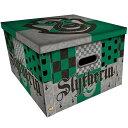 (ハリー・ポッター) Harry Potter オフィシャル商品 スリザリン 折りたたみ 収納ボックス ケース 【楽天海外直送】