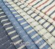 【生地 ダブルガーゼ】【水玉 ボーダー】ボ−ダ−とドットのリバーシブル マリン柄 生地 リバーシブルダブルガーゼ 生地 ドットボーダー 水玉 みず玉 みずたま 水玉模様