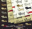 【ねこ柄 生地】綿麻キャンバス マーチパレード キャット【綿麻 生地】猫/ネコ