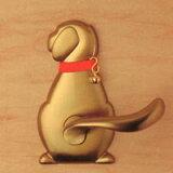 ドアノブがかわいいワンちゃんに?!【ペット型ドアノブ】わんにゃんレバーハンドル Dog1 60
