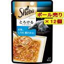 【ボール売り】シーバ アミューズ とろけるシーフードスープ お魚、しらす、蟹かま添え 40g×12個