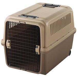 リッチェル キャンピングキャリー XL ブラウン 「飛行機での旅行時にも!大型犬用キャリー」