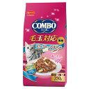 日本ペット コンボキャット 毛玉対応 まぐろ味・ささみチップ・かつおぶし添え 350g