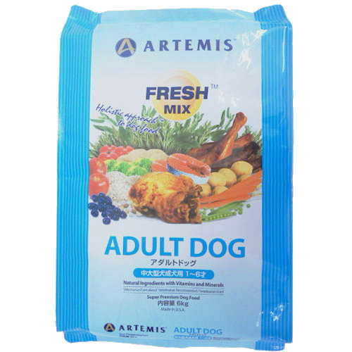 ARTEMIS アーテミス FRESH MIX アダルトドッグ 6kg
