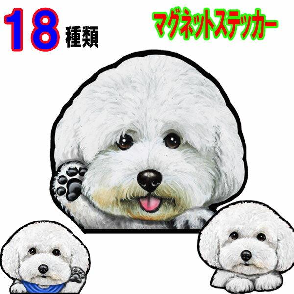 犬 ステッカー/マグネット【18種類】ビションフ...の商品画像