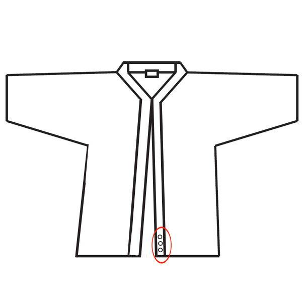 ◇剣道着 基本刺繍 3文字まで300円【代引き不可】