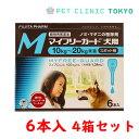 【送料無料】マイフリーガード 犬用M 6本入り 4箱セット
