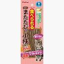ペティオ 食べられる まるでまたたびの小枝 ソフトタイプ 8本入 国産 日本製 猫用おやつ キャットフード キャットスナック デンタル ネコ 歯みがき習慣 コラーゲン繊維を噛むことでブラッシング 噛む力の弱い猫に! Petio