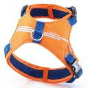 Petio ペティオ Style Trainer(スタイルトレーナー) スマートラインソフトハーネス 犬用 L ゴールデンレトリーバー・ラブラドールレトリーバー等 30kgまで オレンジ