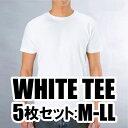 ホワイト Tシャツ アダルト