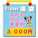 ディズニー 子供服90 福袋 ディズニーベビー 子供服 Disney サイズ:90【福袋】女の子用 ディズニー ミニーマウス他 福袋 3,000円