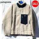 パタゴニア patagonia 2020 フリースジャケット クラシック レトロ X メンズ 23056 NAT FA20 Natural XL ナチュラルネイビー