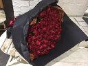 ギフト(贈り物)用花束-本数の選べるバラの花束!レッド系赤-プロポーズや彼女に