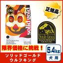 限界価格に挑戦!ソリッドゴールド ウルフキング 5.4kg 大型犬用 SOLID GOLD◆送料無料(一部地域を除く)◆