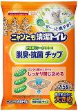 猫砂 花王ペットケア ニャンとも清潔トイレ 脱臭?抗菌チップ 大きめの粒 2.5L