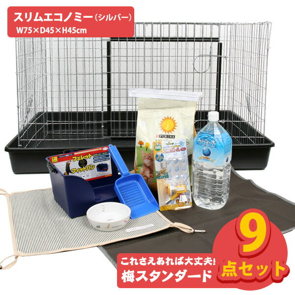 【飼育セット】梅・スタンダード スリムエコノミー...の商品画像