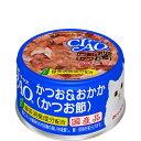チャオ ホワイティ かつお&おかか(かつお節) 85g×24缶〔17010806cw〕