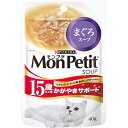 モンプチ スープパウチ 15歳以上用 かがやきサポート まぐろスープ 40g×12コ〔16120833cw〕