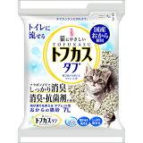[ 285销售一空三个合作!我们最受欢迎的猫沙奥卡拉] TOFUKASUTABU挑战7L [来源][[大人気オカラの猫砂]トフカスタブ 7L]