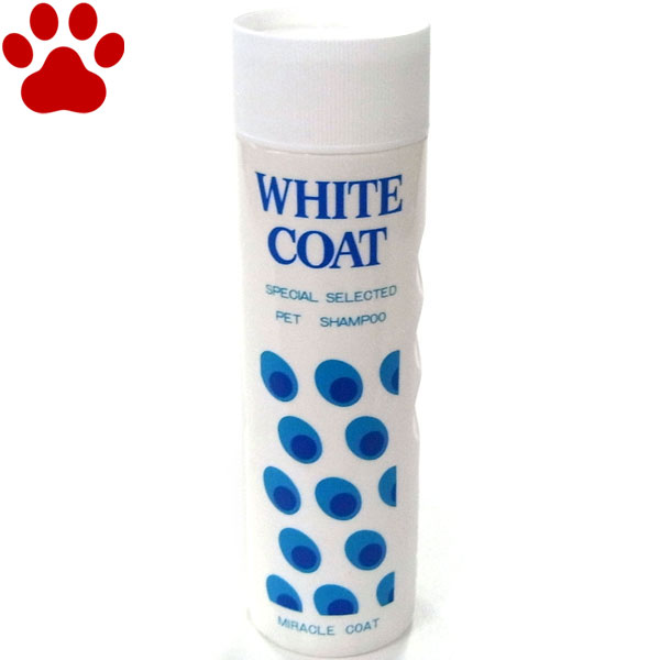 【6】 ニチドウ ミラクル ホワイト 白毛犬用 シャンプー 400ml