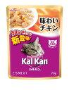 【マース ジャパン】Kalkan カルカン パウチ 味わいチキン 70g