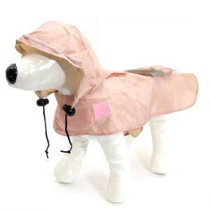 送料無料メール便 犬用 フード付携帯用 レインコート(リード穴付き)SS・S・M・L 犬用品 犬(いぬ イヌ ドッグ dog わんちゃん ワンちゃん )携帯用レインコート(足なしタイプ)