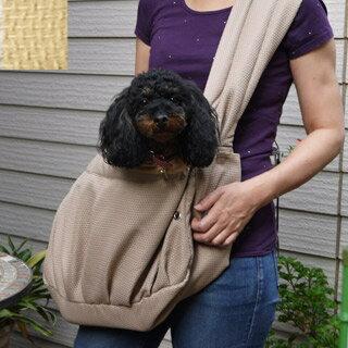 【サイデリアル】ライフバッグ カジュアル(非常グッズなし) 小 ベージュ いざという時のための犬の防災セット!
