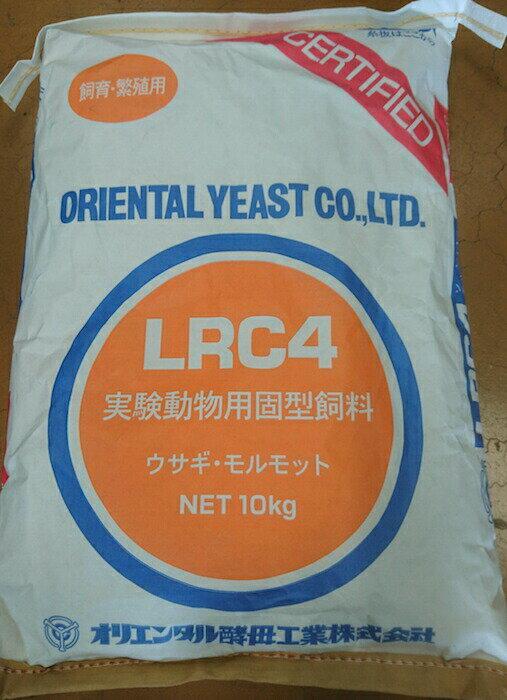 <送料無料>オリエンタル酵母 ウサギ・モルモット用LRC4(ウサギ・モルモット飼育繁殖用) 20kg 小動物フード【N】