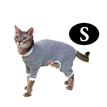 【ポイントUP】【ネコポス可】猫の暮らし スーパーガードスーツキャット S【ペット用品/猫用品/ねこ/ネコ/保護服/手術後/サポートグッズ/猫用ウェア】 【RCP】【お得なクーポン】【お買い物マラソン最大P43倍!】