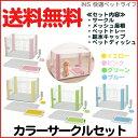 【送料無料】アイリスオーヤマ カラーサークルスターターセット CLS-960S ピンクイエローグリーンブルー 楽天