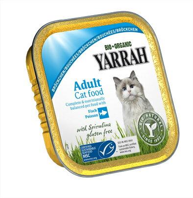 【エントリーで最大ポイント4倍】YARRAH チキンと魚のキャットチャンク 100g【TC】[AA] 楽天