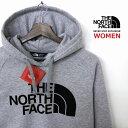THE NORTH FACE ザ ノースフェイス HALFDOME プルオーバー パーカー レディース グレー色 裏起毛