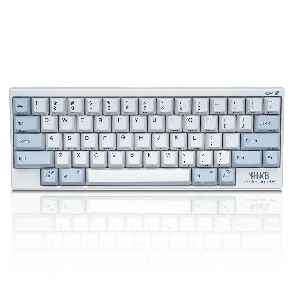 【送料無料】PFU製Happy Hacking Keyboard Professional2 Type-S 白 (英語配列キーボード)PD-KB400WS