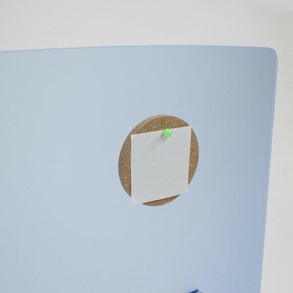 【送料無料】オフィス家具屋さん 20-001MH-C Φ100 1個入り アクリルデスクトップパネル パーテション デスクトップパネル オプションパーツ コルクプレート