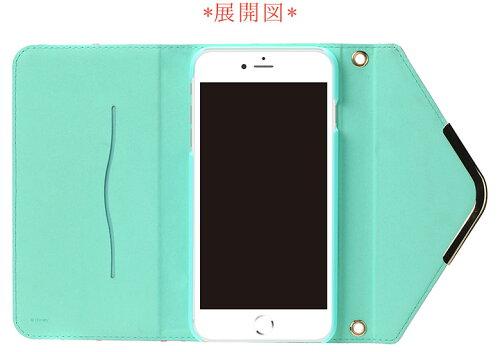 【予約販売】【2017年1月20日入荷予定】iJacketiPhone7Plus用ディズニーキャラクターフリップカバーレタークラッチタイプ