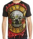 ショッピングTOUR GUNS N ROSES ガンズアンドローゼズ (ワールドツアー再開 ) - JUMBO BLOODY BULLET / Tシャツ / メンズ 【公式 / オフィシャル】