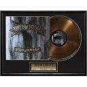 来日記念 BON JOVI ボン・ジョヴィ - New Jersey / GOLD DISC / インテリア額 【公式 / オフィシャル】