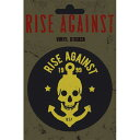 RISE AGAINST ライズアゲインスト Skull Anchor / ステッカー 【公式 / オフィシャル】