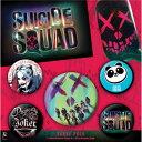 SUICIDE SQUAD スーサイドスクワッド (2020新作映画公開 ) - FACE 5個セット / バッジ