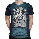 ショッピンググッズ LED ZEPPELIN レッドツェッペリン (デビュー50周年記念 ) - ELECTRIC MAGIC(タイダイ) / Tシャツ / メンズ 【公式 / オフィシャル】