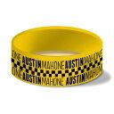 AUSTIN MAHONE オースティンマホーン (来日記念 ) - Taxi Silicon Wristband / リストバンド 【公式 / オフィシャル】