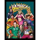 BIG BANG THEORY ビッグバンセオリー - Superheroes / 額入りフォトボード / インテリア額