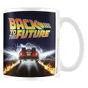 BACK TO THE FUTURE バックトゥザフューチャー - Delorean / マグカップ 【公式 / オフィシャル】